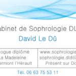Carte de visite Sophro