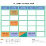Planning yoga insta